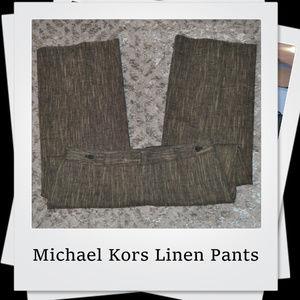 🎉🎉🎉 PRICE DROP 🎉🎉🎉 Michael Kors Linen Pants